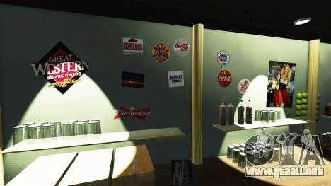 Una nueva cafetería-Hard Rock- para GTA 4 adelante de pantalla