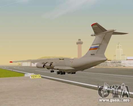 Il-76md-90 (IL-476) para visión interna GTA San Andreas
