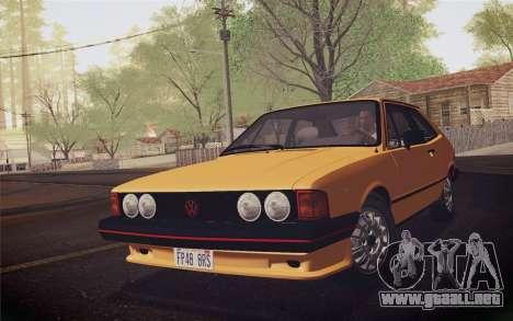 Volkswagen Scirocco S (Typ 53) 1981 IVF para GTA San Andreas left