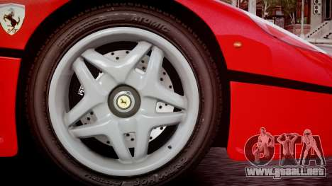 Ferrari F50 1995 para GTA 4 Vista posterior izquierda