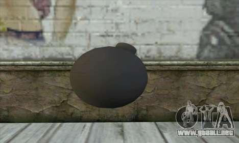 Pirate Grenade para GTA San Andreas segunda pantalla