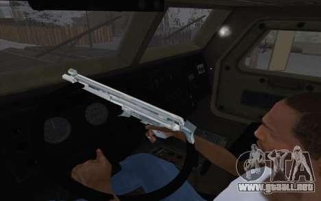 MRAP de BF4 para GTA San Andreas vista hacia atrás