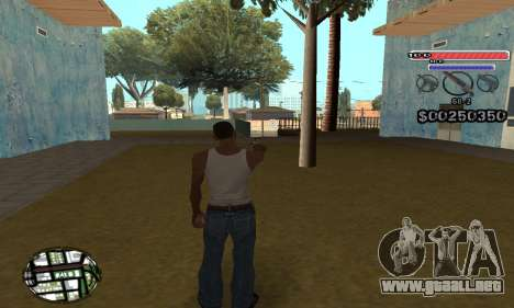 C-HUD v2 para GTA San Andreas segunda pantalla