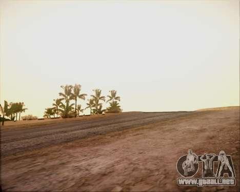 SA Graphics HD v 4.0 para GTA San Andreas quinta pantalla