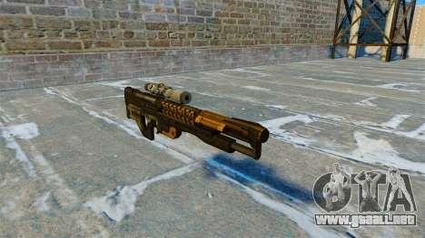 Rifle Gauss 14 electromagnética M20 para GTA 4