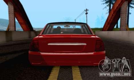 LADA 2170 para la visión correcta GTA San Andreas