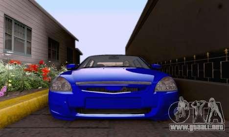 LADA 2170 para visión interna GTA San Andreas