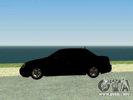 VAZ 2170 Priora para la visión correcta GTA San Andreas