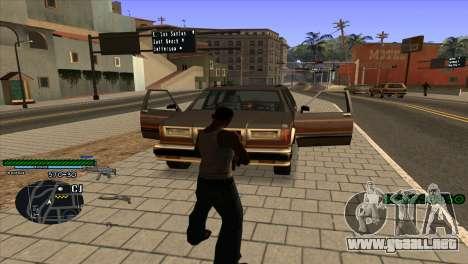 C-HUD Solt para GTA San Andreas segunda pantalla