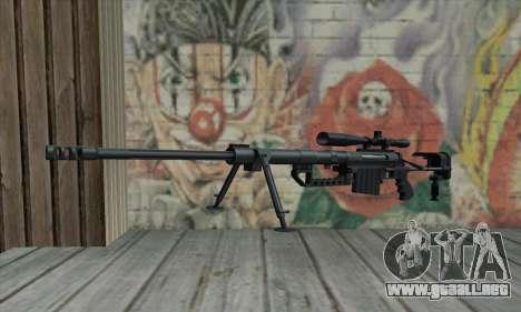 Black M200 Intervention para GTA San Andreas