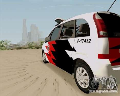 Chevrolet Meriva para GTA San Andreas left