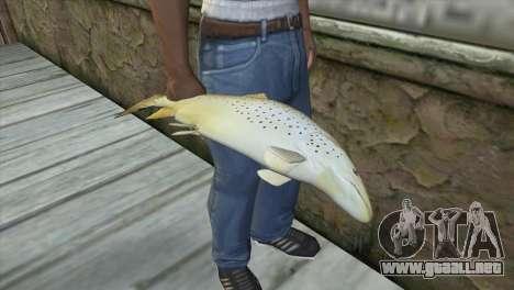 Pescado para GTA San Andreas tercera pantalla