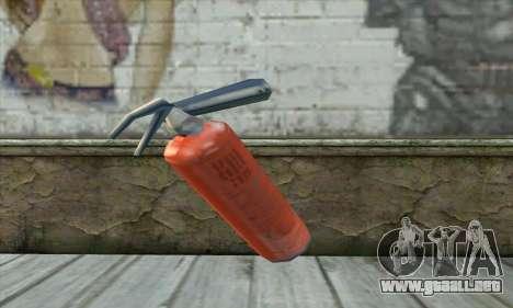 Extintor para GTA San Andreas segunda pantalla
