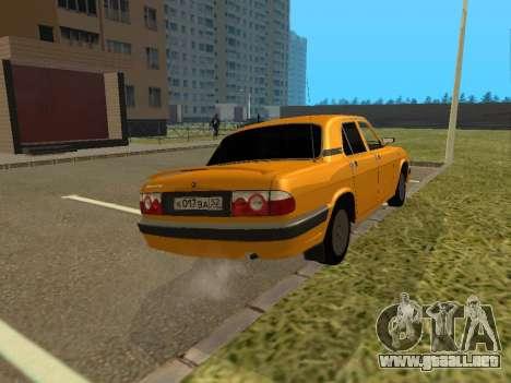 GAZ 3110 Volga para la visión correcta GTA San Andreas