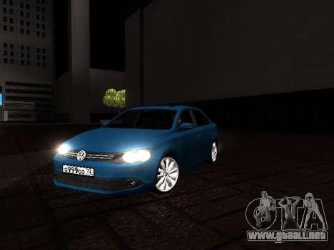 Volkswagen Jetta para la visión correcta GTA San Andreas