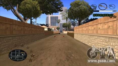 C-HUD by Djet para GTA San Andreas tercera pantalla