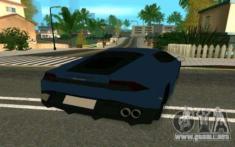 Lamborghini Huracane LP610-4 para la visión correcta GTA San Andreas