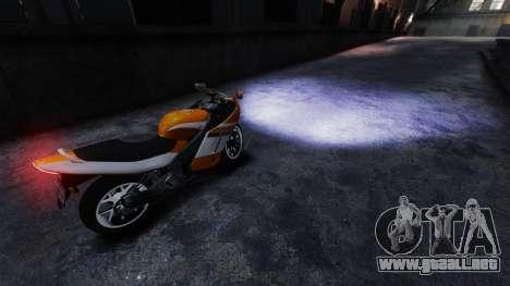 Real faros de xenón para GTA 4 segundos de pantalla