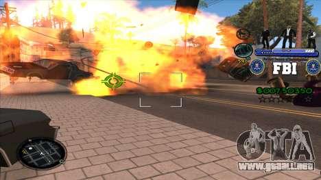 C-HUD FBI para GTA San Andreas tercera pantalla