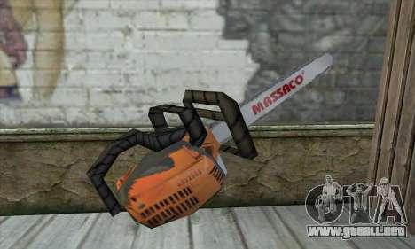 Motosierra para GTA San Andreas segunda pantalla