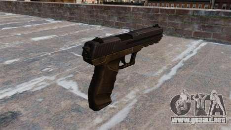 Pistola Crysis 2 v2.0 para GTA 4 segundos de pantalla