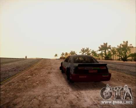 SA Graphics HD v 4.0 para GTA San Andreas tercera pantalla