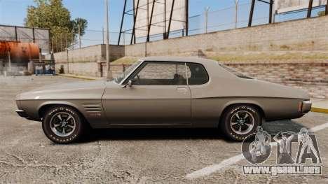 Holden Monaro GTS 1971 para GTA 4 left