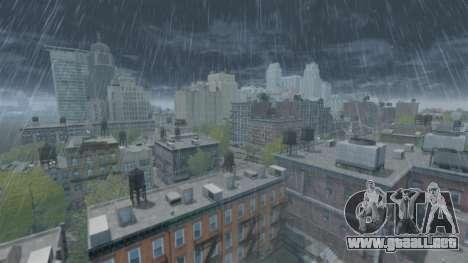 El Clima De Japón para GTA 4 tercera pantalla