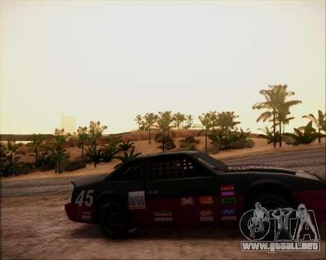 SA Graphics HD v 4.0 para GTA San Andreas sucesivamente de pantalla