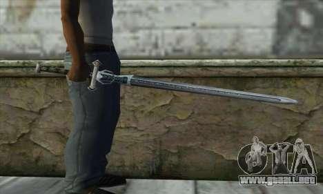 Gothic 2 Sword para GTA San Andreas tercera pantalla