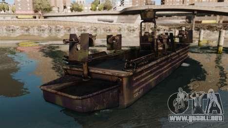 Navy SEALs SOC-R para GTA 4 Vista posterior izquierda