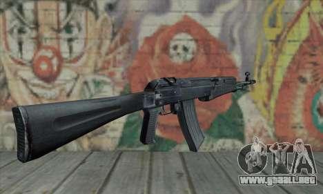 El AK-47 de S.T.A.L.K.E.R. para GTA San Andreas segunda pantalla