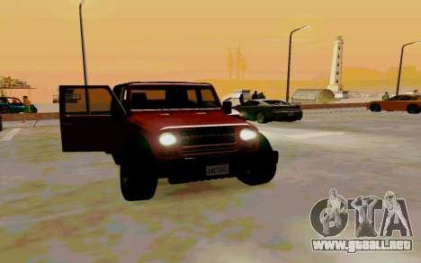 GTA V Mesa para la visión correcta GTA San Andreas