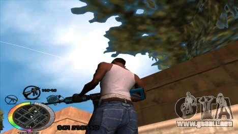 C-Hud Rainbow by HARDy para GTA San Andreas