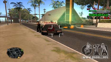 C-HUD Advance para GTA San Andreas tercera pantalla