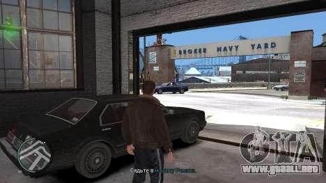 Crack para GTA 4 para GTA 4 tercera pantalla