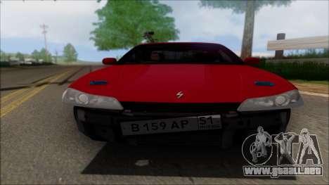 Nissan Silvia S15 V2 para visión interna GTA San Andreas