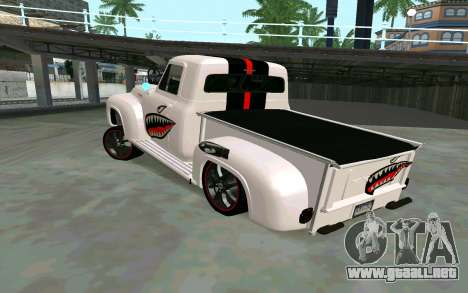 Ford FR-100 para GTA San Andreas left