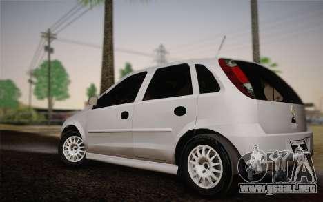 Chevrolet Corsa VHC para GTA San Andreas left