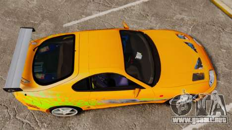 Toyota Supra RZ 1998 (Mark IV) Bomex kit para GTA 4 visión correcta