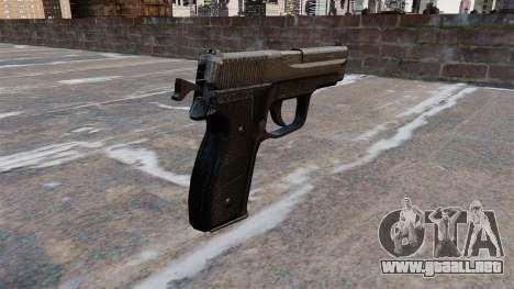 Pistola SIG-Sauer P228 para GTA 4 segundos de pantalla