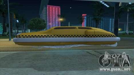 Taxi 5 Element para la visión correcta GTA San Andreas