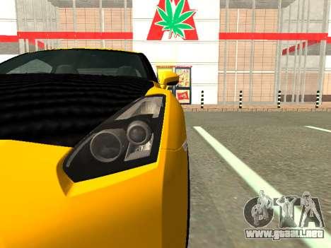 Nissan GT-R AMS Alpha 12 para la visión correcta GTA San Andreas
