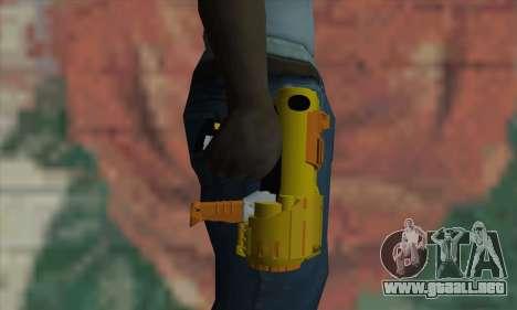 Nerf Gun para GTA San Andreas tercera pantalla