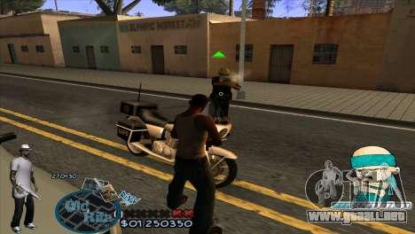 C-HUD Rifa by HARDy para GTA San Andreas tercera pantalla