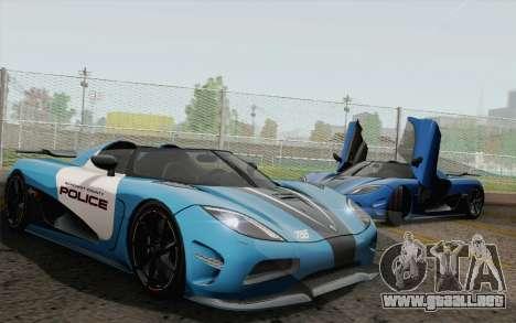 Koenigsegg Agera R para GTA San Andreas