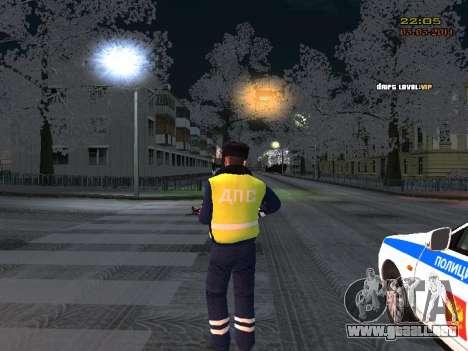 Pak DPS en un formato de invierno para GTA San Andreas tercera pantalla