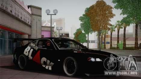 Nissan S15 Street Edition Djarum Black para GTA San Andreas