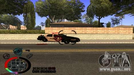C-Hud Rainbow by HARDy para GTA San Andreas tercera pantalla