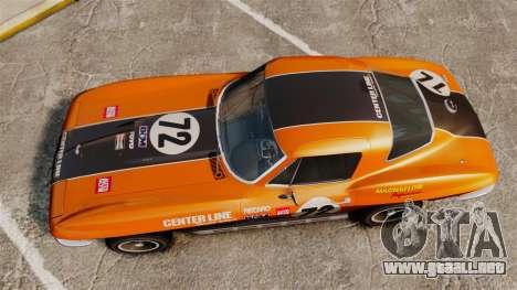 Chevrolet Corvette C2 1967 para GTA 4 visión correcta
